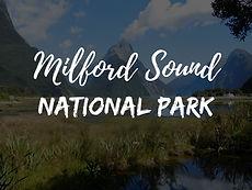 Milford Sound Nationa Park