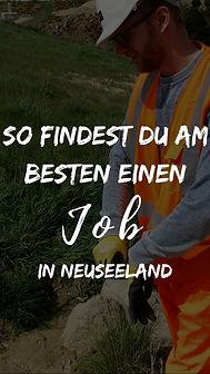 Arbeit in Neuseelnd finden