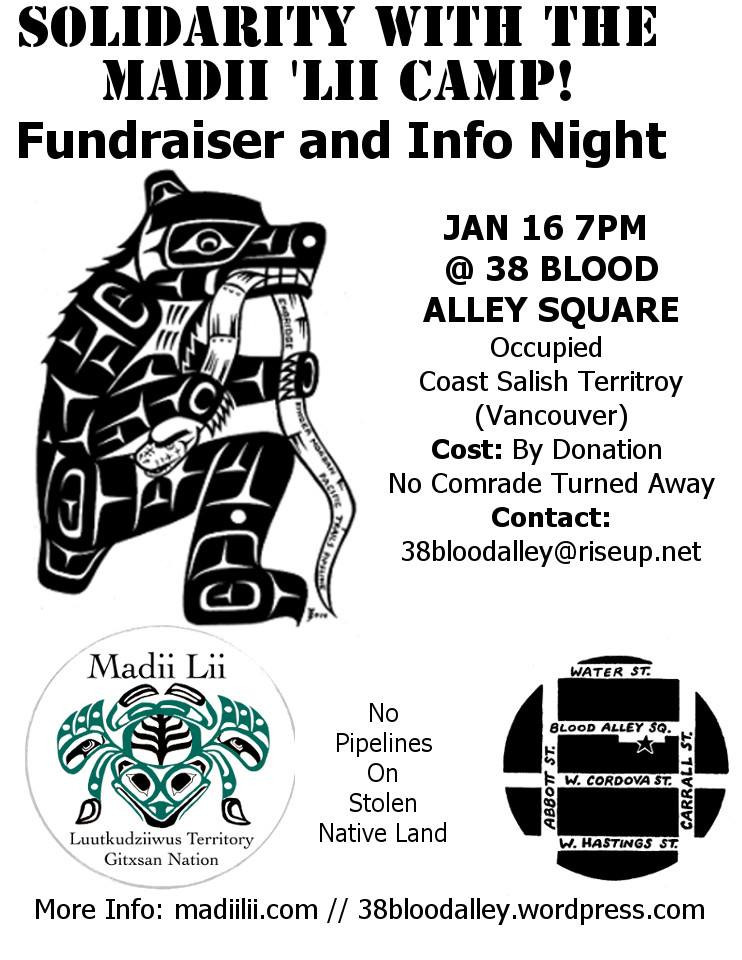 Info Night and Fundraiser - Jan. 16