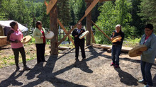 Gitxsan Community Health Leaders Visit the Camp
