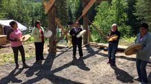 Gitxsan Community Health Leaders Visit the Camp