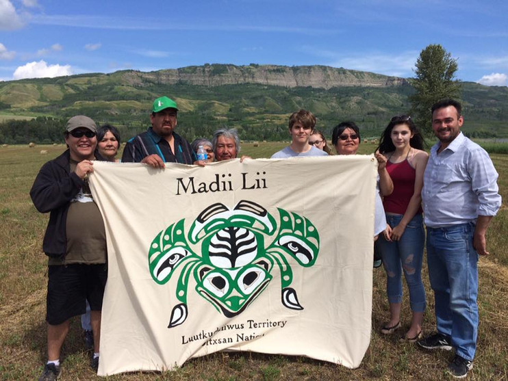 Madii Lii at Paddle for the Peace