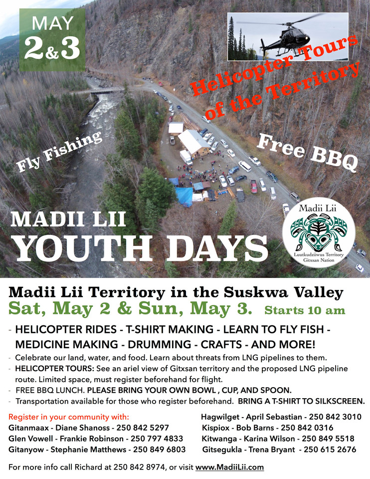 Madii Lii Youth Days - May 2 & 3
