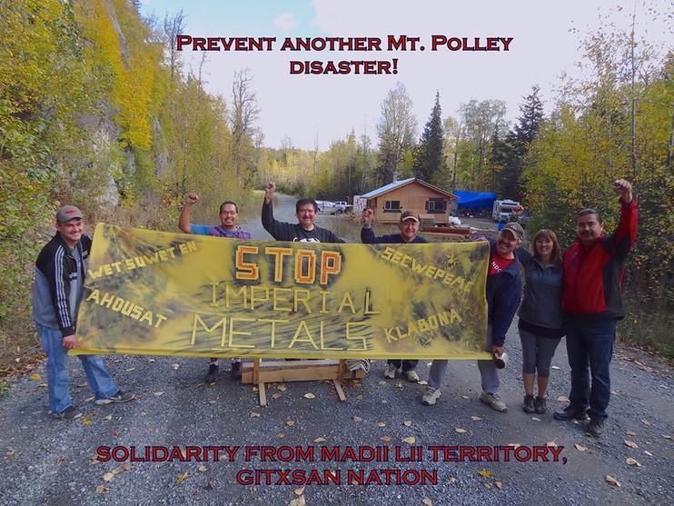 Solidarity with the Tahltan, Wet'suwet'en, Secwepemec Nations