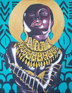 Self Love in Black Painting