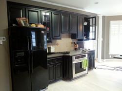 Black kitchen before 1