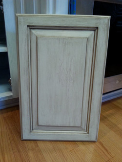 Black kitchen new sample door