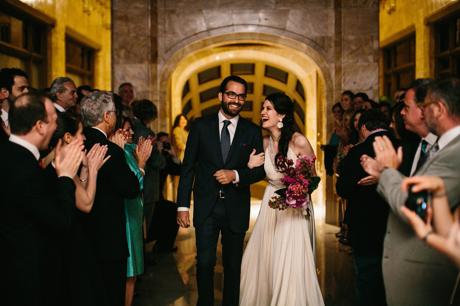 Woolworth Building Wedding