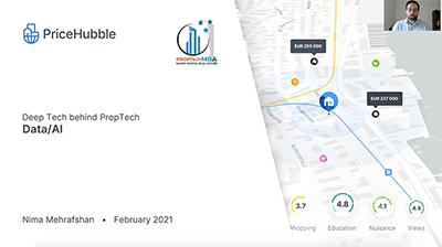 Aufzeichnung WEBINAR: Deep Tech behind PropTech - Data & AI