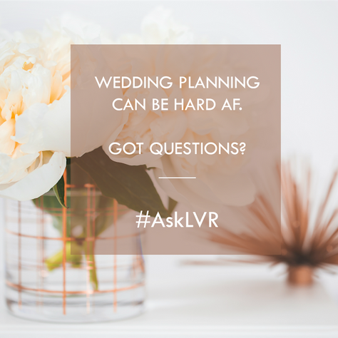 #AskLVR: Your Questions, Answered. Honestly. SEATING EDITION