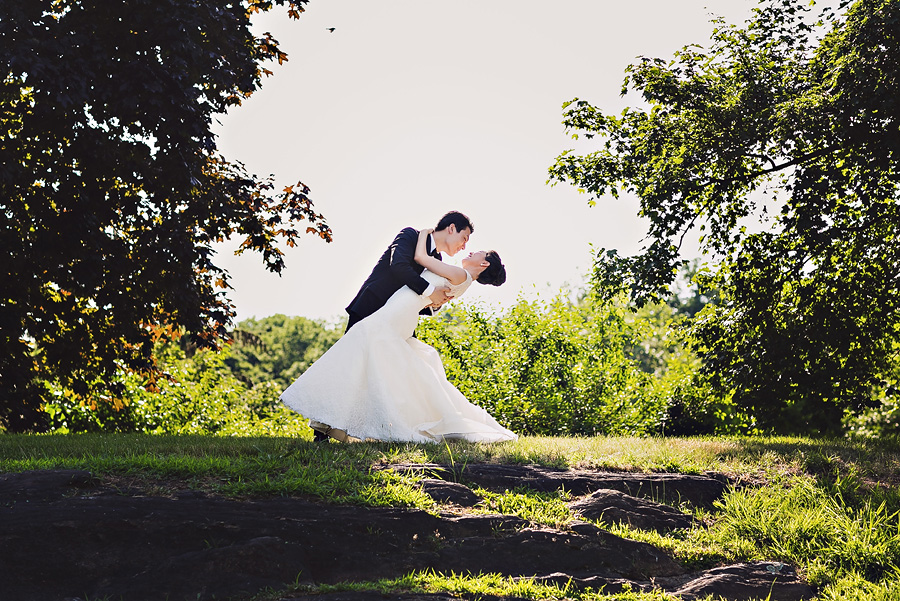 New York Botanical Gardens Wedding