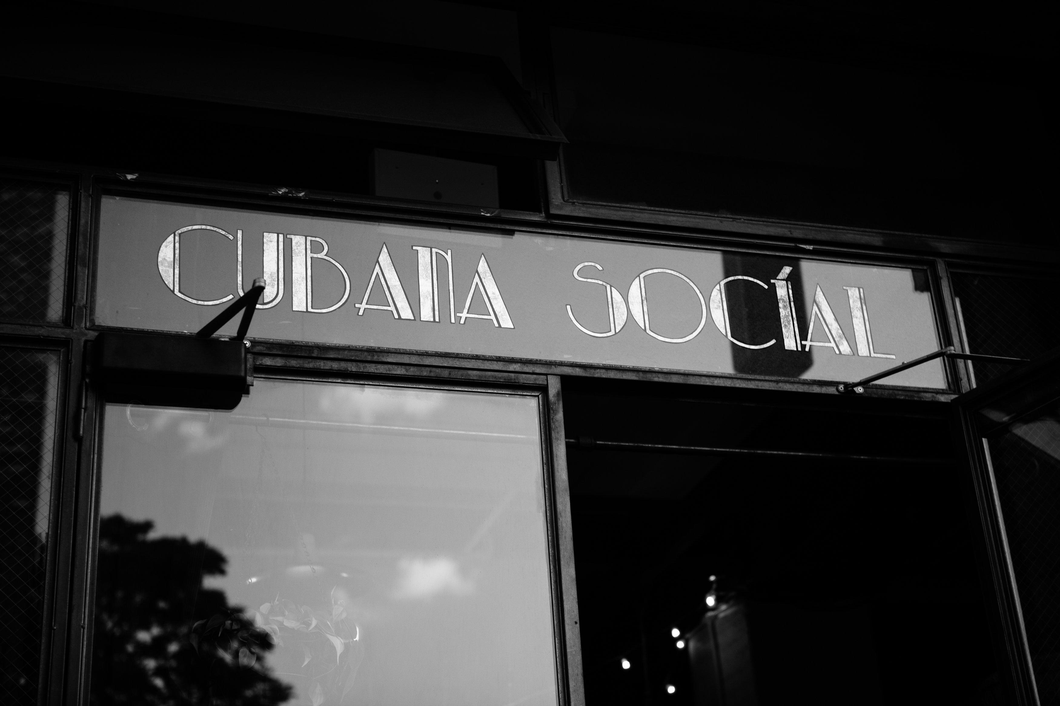 Cubana Social Wedding