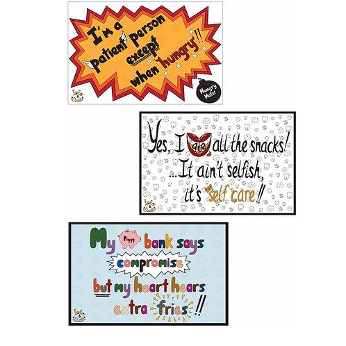 """Fun Text"" - Postcard Pack"
