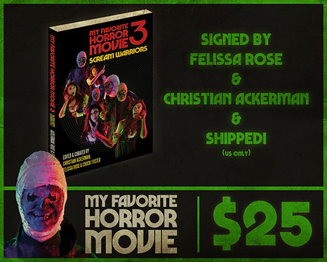 MY FAVORITE HORROR MOVIE 3 - SHIPPED! (US ONLY)