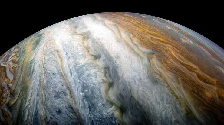 Straalwinden op Jupiter