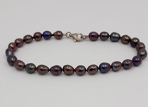 black rice pearls Bracelet