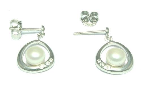 Silver Earrings 08