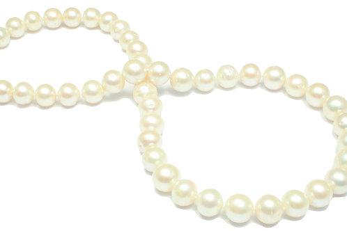 N50 White Fresh Water Round Pearl 11mm
