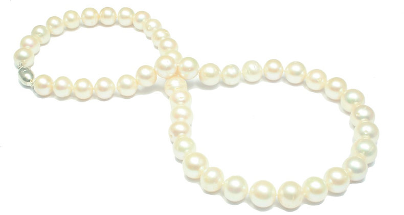 N50 White Fresh Water Round Pearl 11mm
