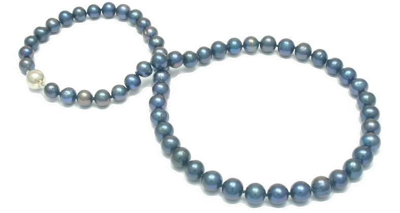 N06 Fresh Water Round 7mm black pearl