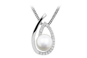 P21 Silver White Fresh Water Pearl