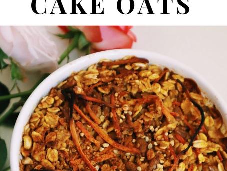 Baked Carrot Cake Oats