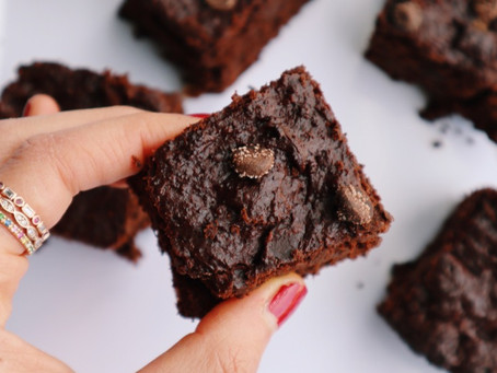 Decadent Dark Chocolate Brownies