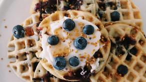 Blue (berry) Majik Waffles