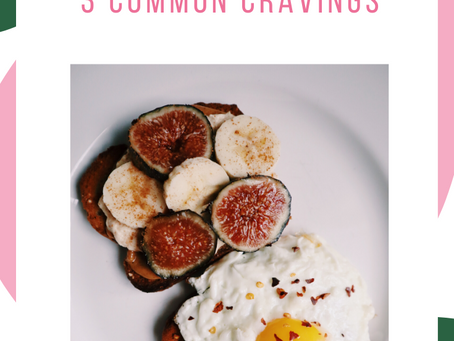 How to Deal with These 3 Common Cravings