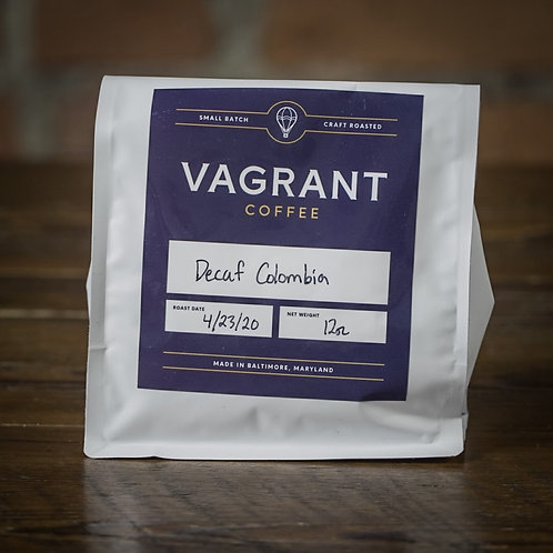 Colombia - Decaf - Whole Bean