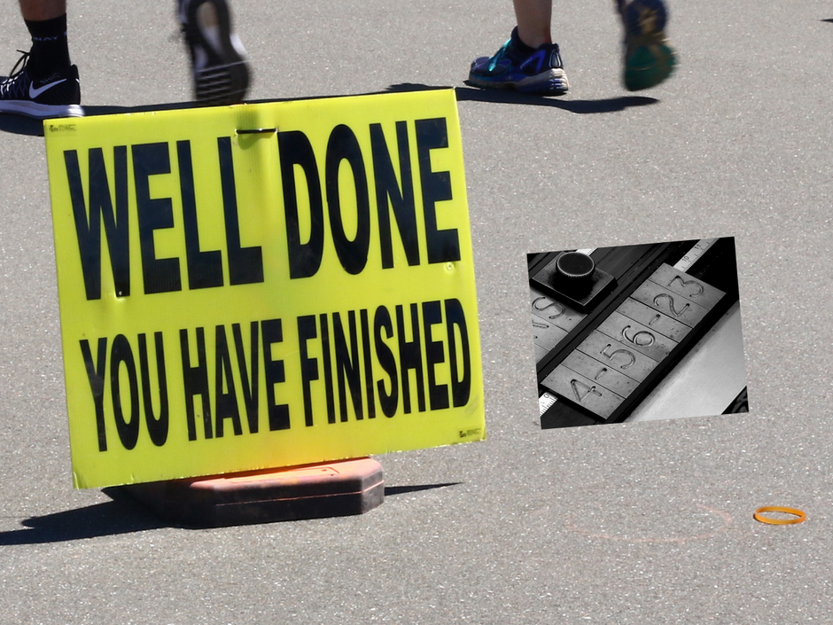 Well done, you have finished?