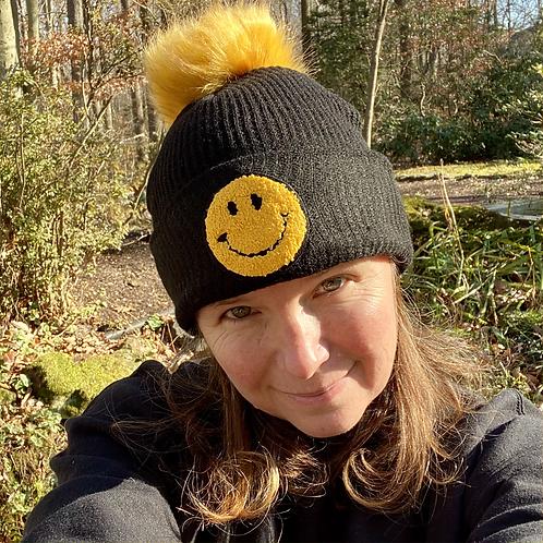 Choose Happy Winter Hat