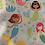 Thumbnail: GIRLS HOODED TOWEL