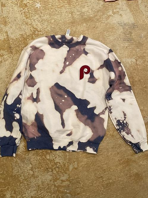 Fightin' Phils Bleach Dyed Sweatshirt