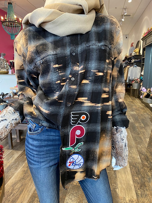 PHILLY PHILLY Flannel