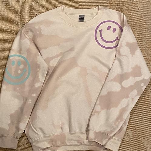 Happy Sweatshirt (Sand)