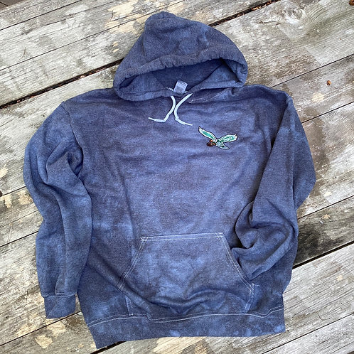 Grey Acid Washed Sweatshirt