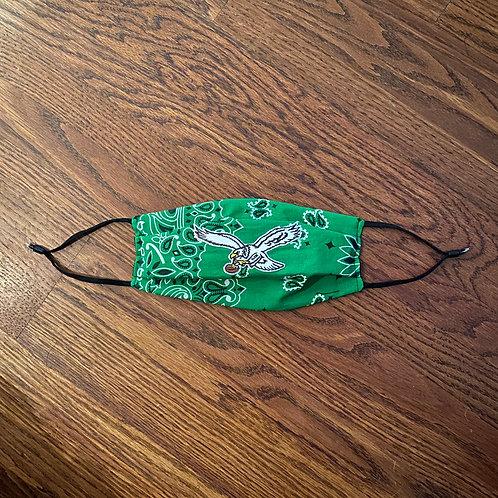 Green Bandana Mask