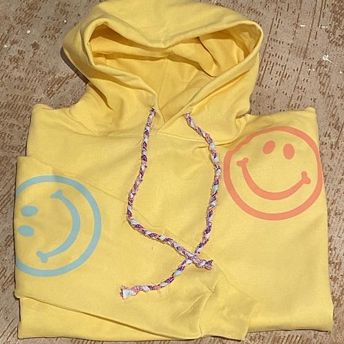 Happy Sweatshirt (Yellow)