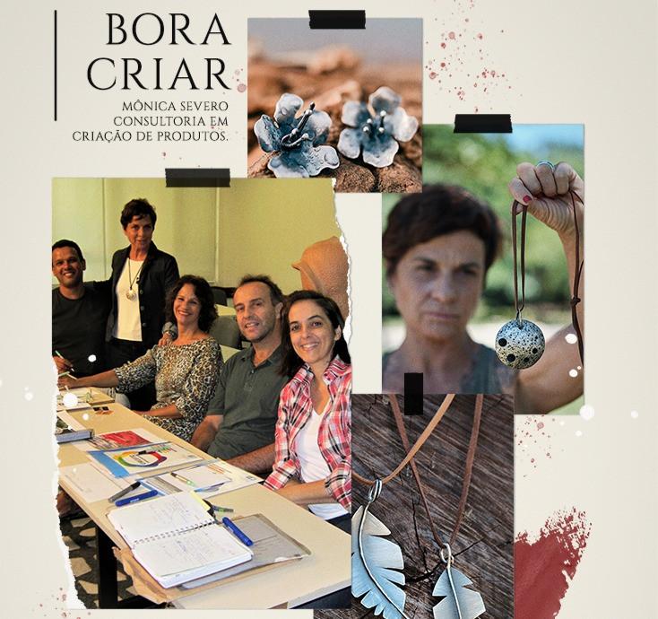 BORA CRIAR! Mônica Severo divide sua experiencia como DESIGNER DE PRODUTO, professora e consultora