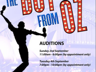 AUDITIONS: The Boy From Oz