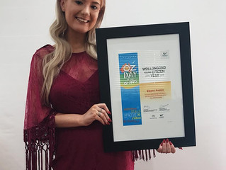 Australian Wollongong's Young Citizen of the Year 2018