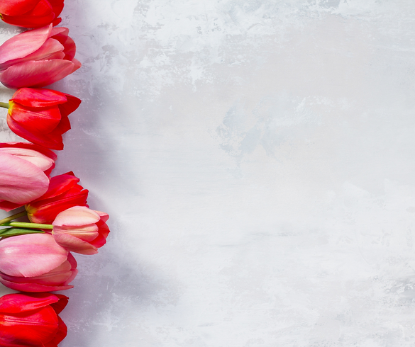 Ornate Hearts Valentine's Day Facebook P