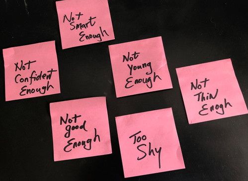 You are so much more than your post-it notes