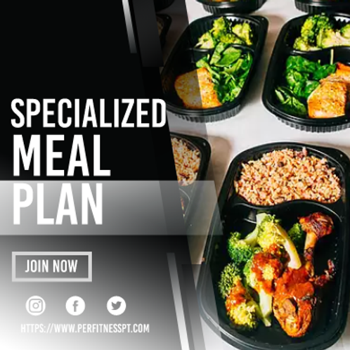 Specialized Meal Plan