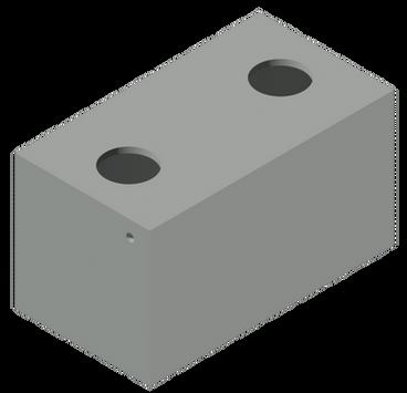 QPI_1500 gal.Grease Trap 2 Compartments