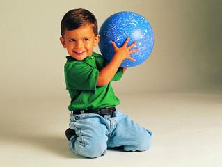 Игры с мячом на развитие речи