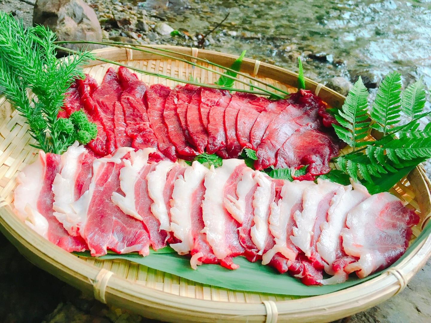 鹿肉&猪肉 スライス