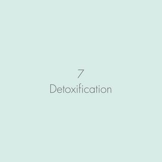 Detoxification & Boosting the Immune System