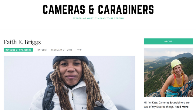 Cameras + Caribiners: A Beacons of Badassery Interview